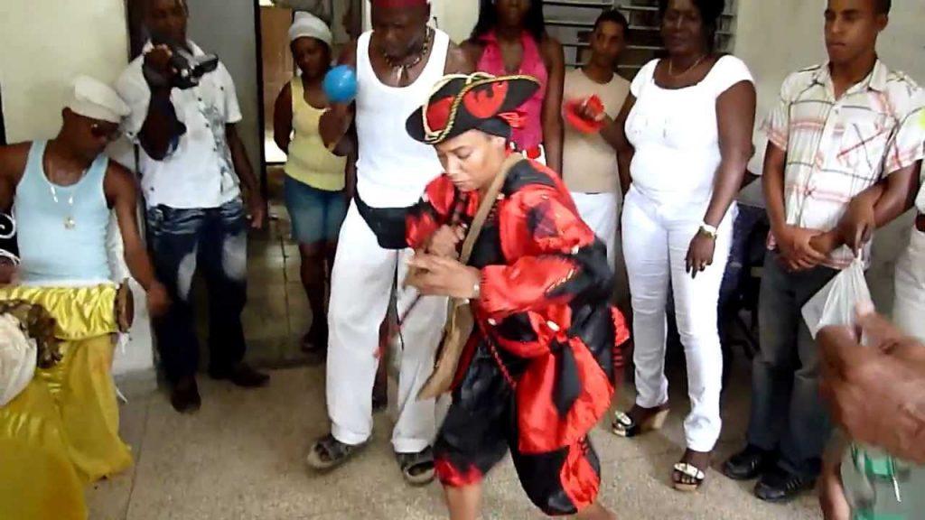 Bailes para la deidad elegua