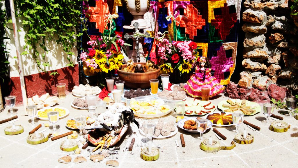 altar a oshun