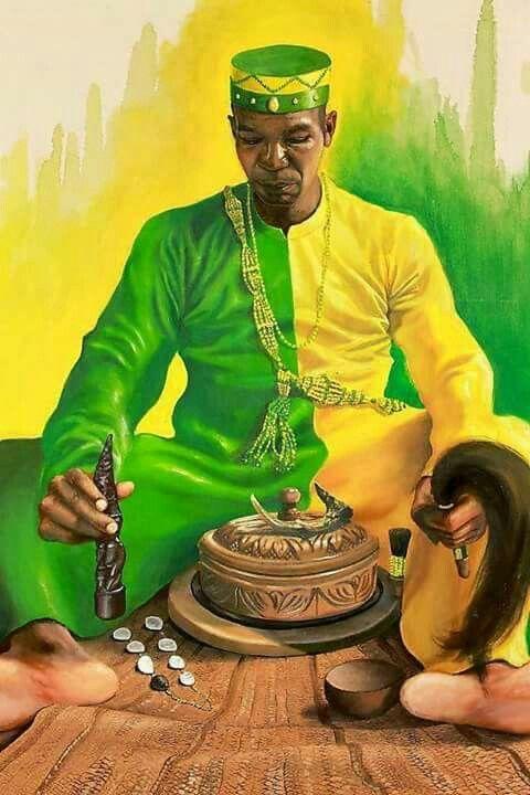 sacerdote babalawo