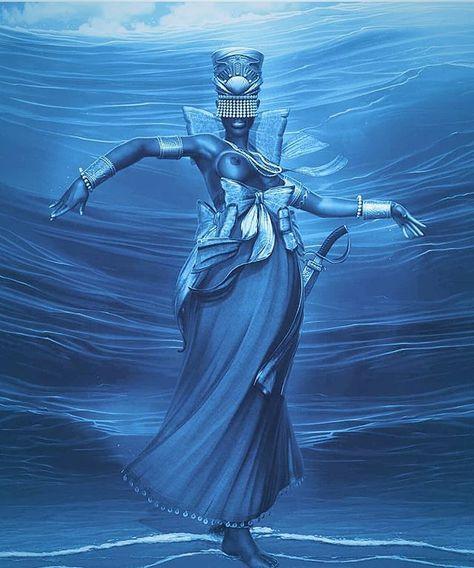 la Diosa Yemaya
