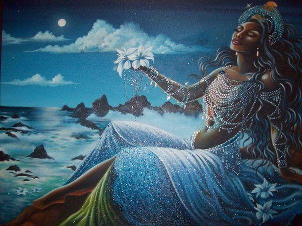 Ritual a Yemaya en el mar
